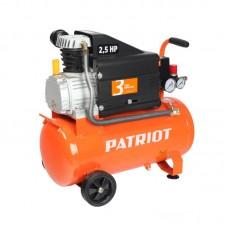 КОМПРЕССОР PATRIOT EURO 24/260, 1.8 кВт, выход быстросъём, выход елочка 8мм
