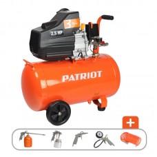 КОМПРЕССОР PATRIOT 50-260К 1.8 кВт, выход быстросъём, выход елочка 8 мм.