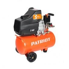 КОМПРЕССОР PATRIOT EURO 24/240, 1.5 кВт, выход быстросъём, выход елочка 8 мм.