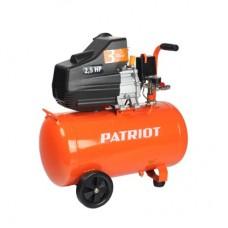 КОМПРЕССОР  PATRIOT EURO 50/260, 1.8 кВт, выход быстросъём, выход елочка 8 мм.
