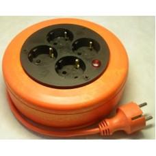 УХз16-104(ПВС 3х1,0) Удлинитель-рулетка